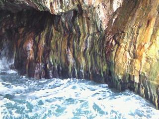 三段壁洞窟②