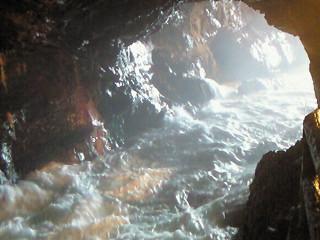 三段壁洞窟③