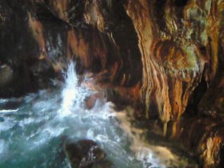 三段壁洞窟④