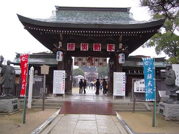 大石神社 門