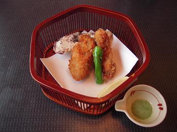 祥吉 牡蠣フライ