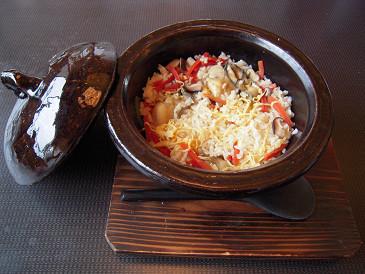 祥吉 牡蠣釜飯①