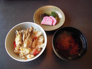 祥吉 牡蠣ご飯