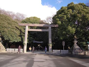 熱田神宮 鳥居①