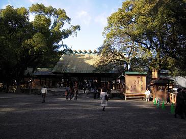 熱田神宮 拝殿①