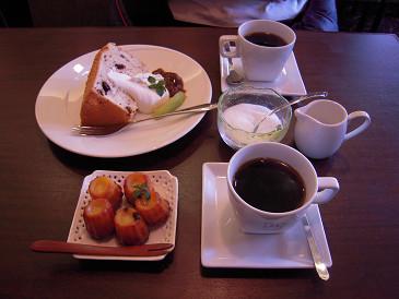 CAFE DU MON コーヒー デザート