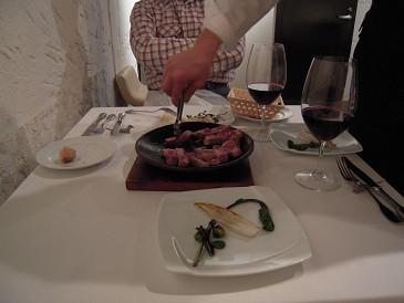 ルナ パルパドス 豚陶板焼き