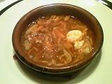 ルナ・パルパドス ニンニクと半熟卵のスープ