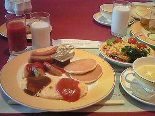 ウエスティンホテル淡路 朝食①