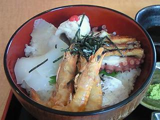 たこフェリー漁師丼②