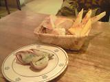 ラバラッカ アンティパスト③ パン