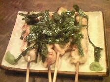 とり丸 焼き串(ささみわさび)