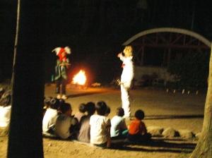 キャンプファイヤー(エルステップスライフスポーツクラブ)