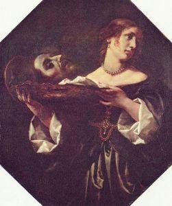 カルロドルチェ  ヨハネの首をもつサロメ