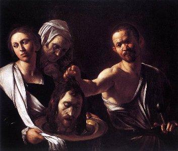 カラヴァッジョ 洗礼者の首をもつサロメ