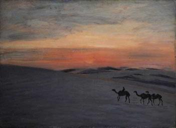 蒙古の日の出