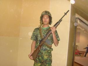 マレーシア軍人