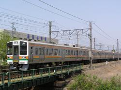 安倍川駅付近