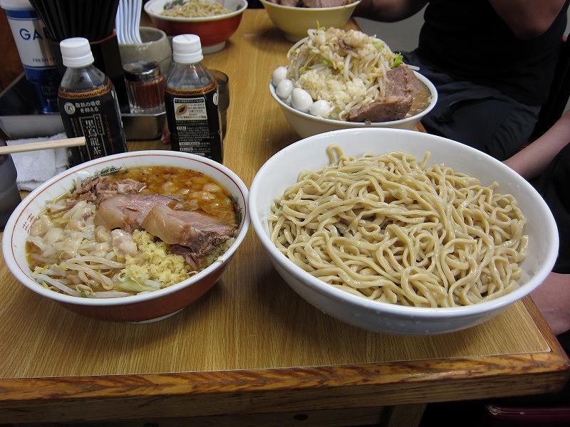 大つけ麺 麺増し しょうが ¥950 + ¥100以上 + ¥50