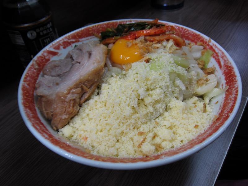 小 汁なし ニラキムチ 粉チーズ ¥600+¥80+¥80+¥100