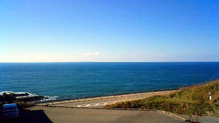 日本海の写真。