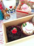 バレンタインマフィン2個BOX