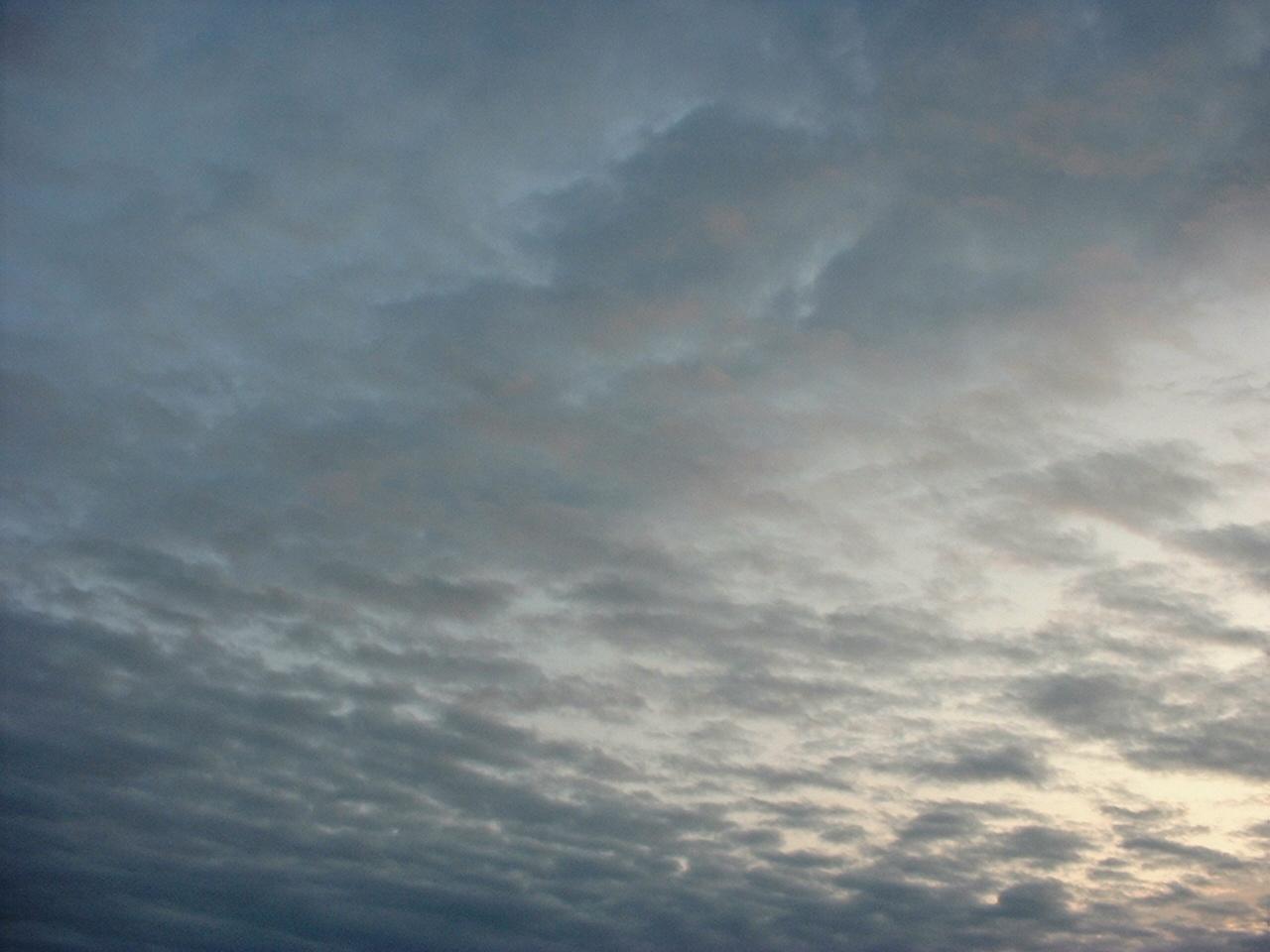 DSCF0093朝の雲空き地から北UP
