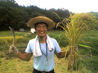 有機農業を実践されているHさん