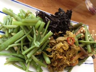 ⑯山菜の盛り合わせ