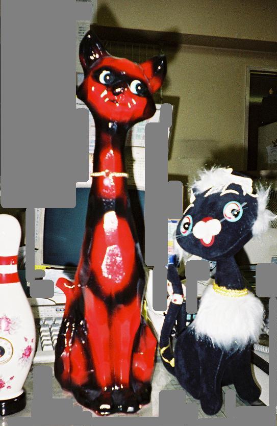 昭和モンド-猫と猫?