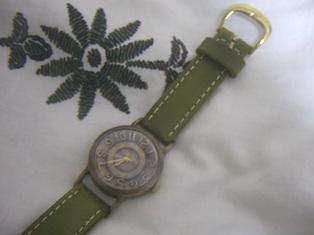 手作り時計。。。