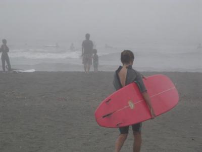 ★深い霧です★