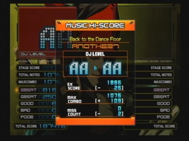 Back to the Dance Floor(A)FC