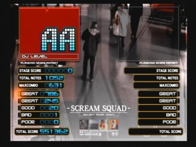 SCREAM SQUADリザルト