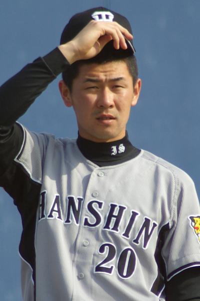 20080405_試合後に練習をする背番号20番の正田樹
