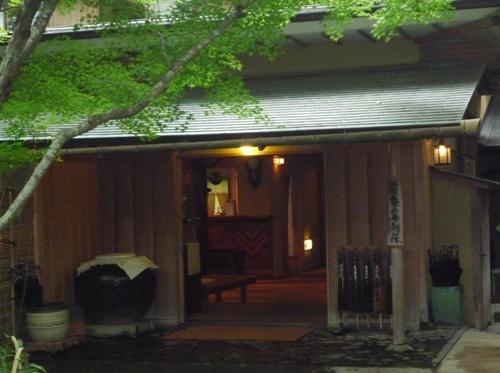 亀の井玄関