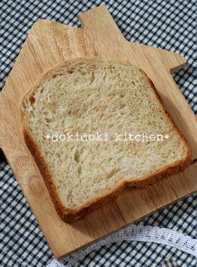 ノンオイルのグラハム食パン