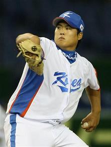 WBC韓国柳賢振投手