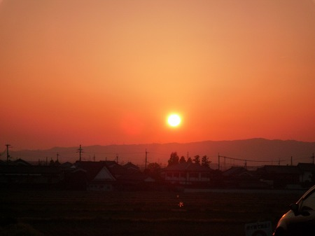 4-9 夕陽
