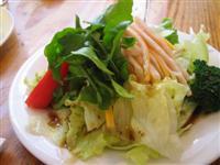 ターキーサラダのハーフサイズ