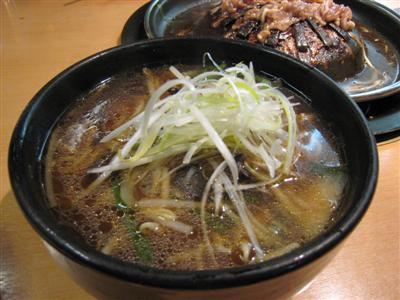 李朝ラーメン・醤油味