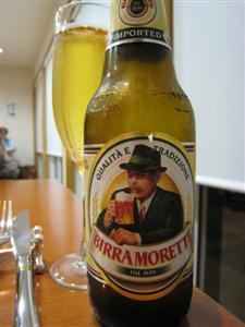 イタリアンビール・モレッティ