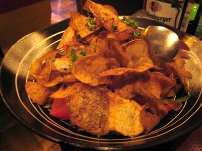 サックリパリパリ・ポテトのサラダ