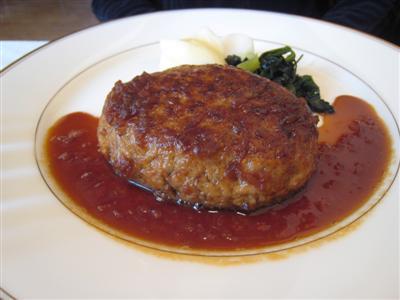 ハンバーグステーキ シャリアピンソース