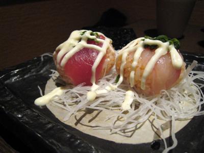 変わり寿司 韓国仕立て
