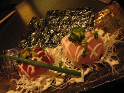 変わり寿司韓国仕立て