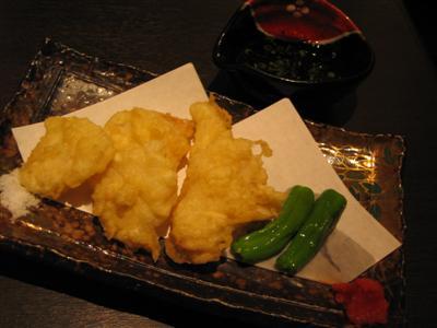 ふぐの天ぷら