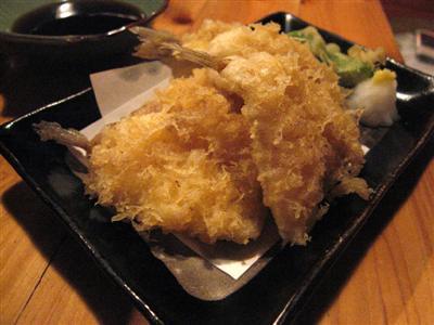 きすの天ぷ羅