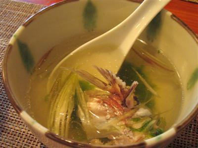 真鯛スープ