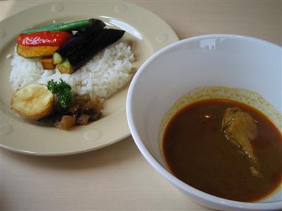 揚げ野菜スープカレー